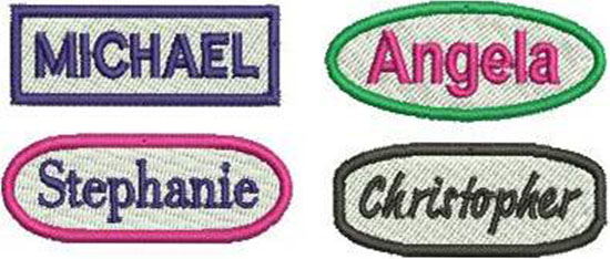 Custom Embroidery Badges and Patches | Graphic Stitches